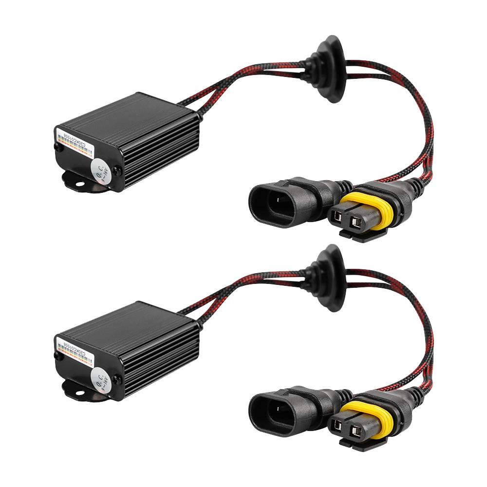 Arc Lighting LED Decoder Harness Kit 9005/9006/9012/H10 Pair