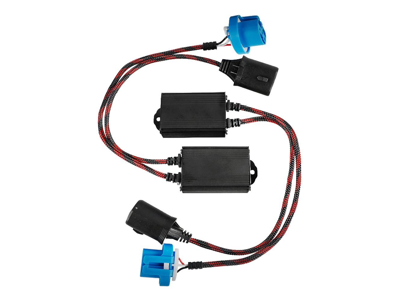 Arc Lighting LED Decoder Harness Kit 9007 Pair
