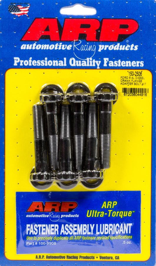 Arp Crank Flange Adapter Bolt Kit Ford 6.4L DSL