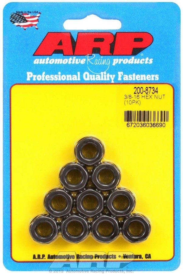 Arp Hex Nuts - 3/8-16 (10)