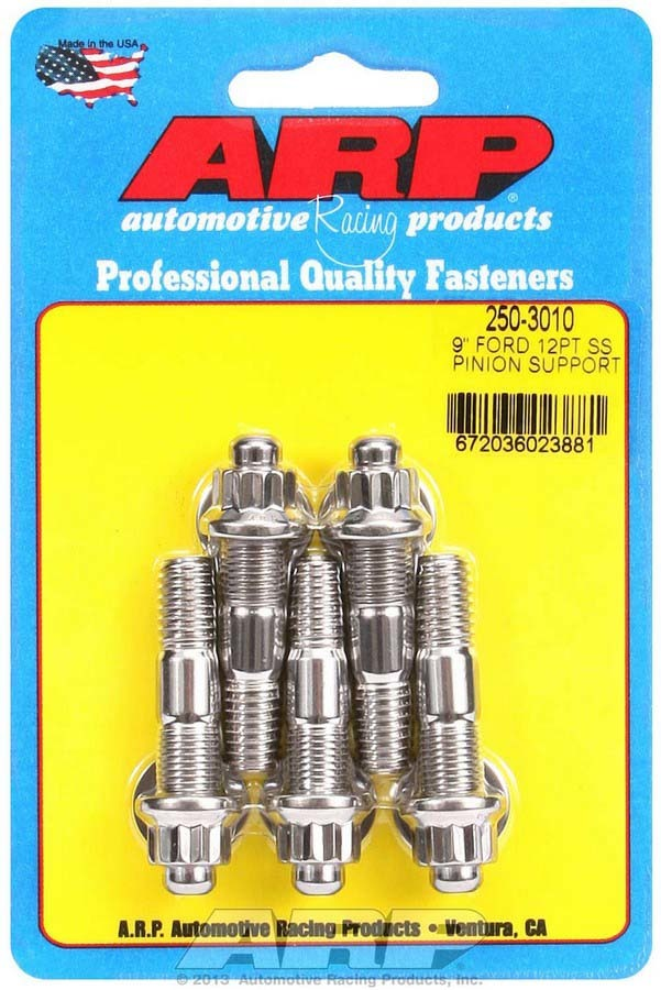 Arp Ford 9in S/S Pinion Support Stud Kit 12pt.