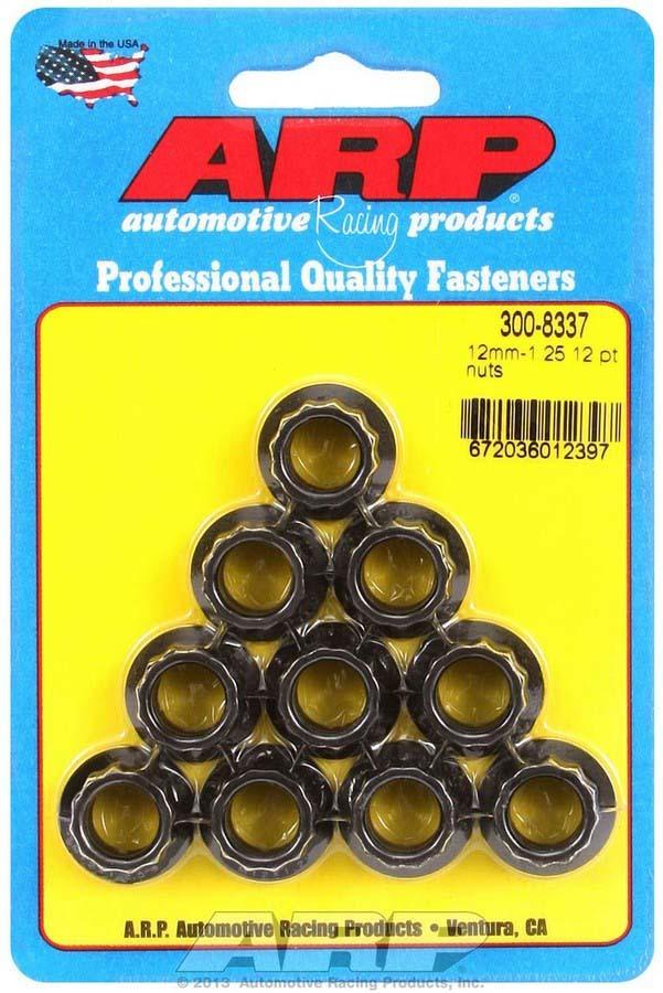 Arp 12mm x 1.25 12pt. Nuts (10)