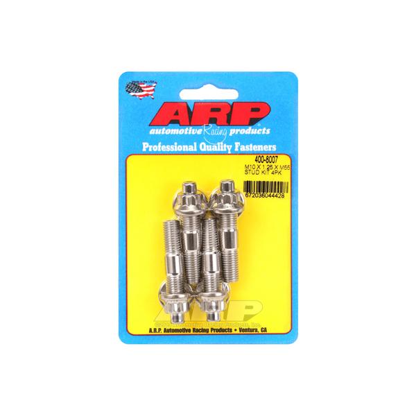 Arp Stud Kit - Broached 4pk 10mm x 1.25 x 55mm