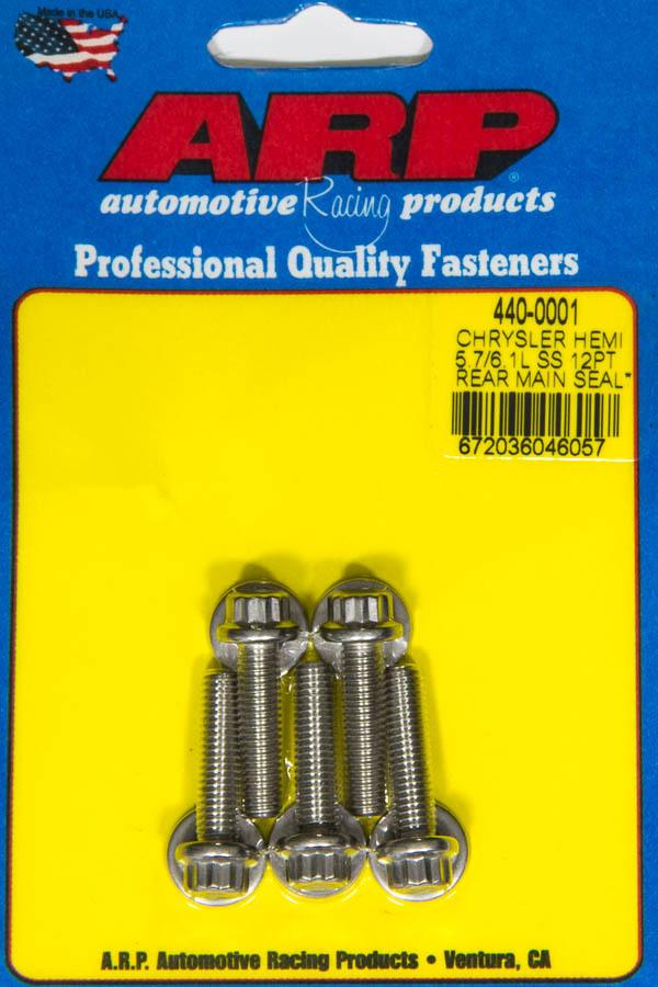 Arp Rear Motor Cover Bolt Kit Mopar 5.7/6.1L Hemi
