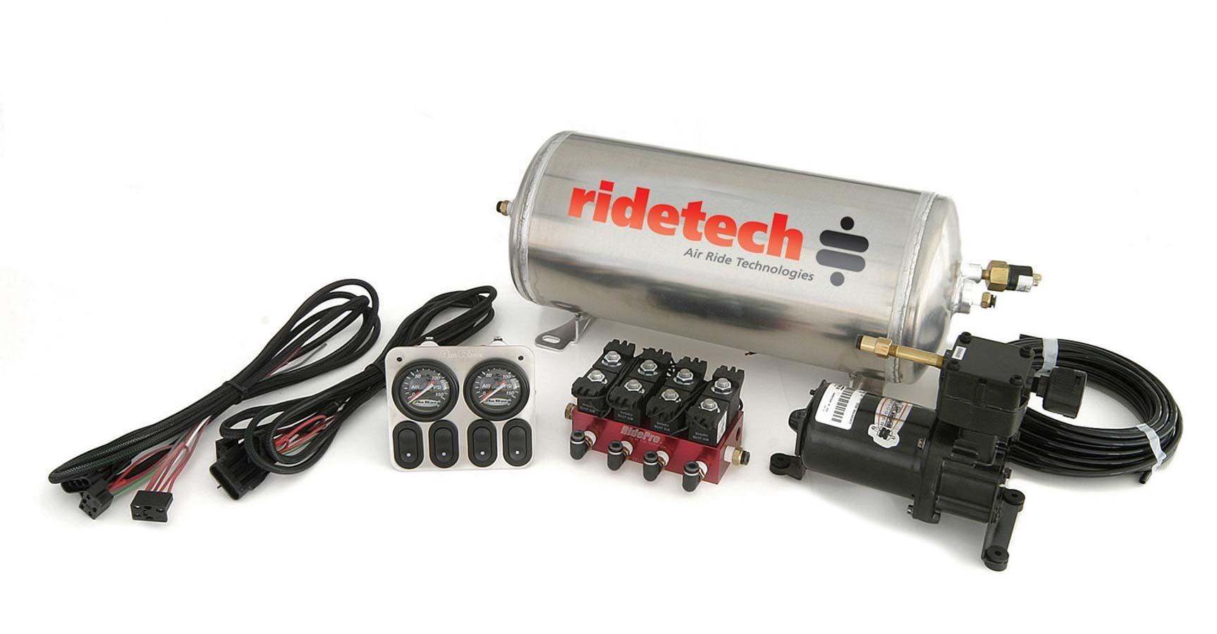 Ridetech Manual 4-Way Compressor System