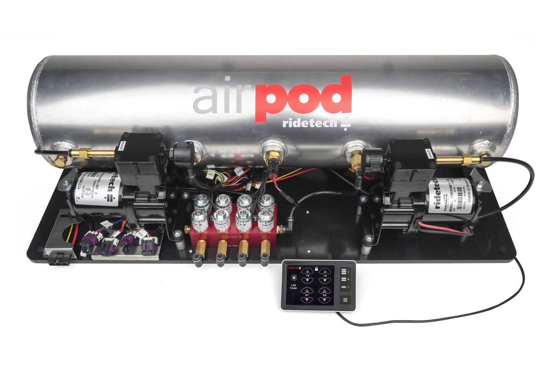 Ridetech RidePro E5 5 Gallon Dual Compressor AirPod