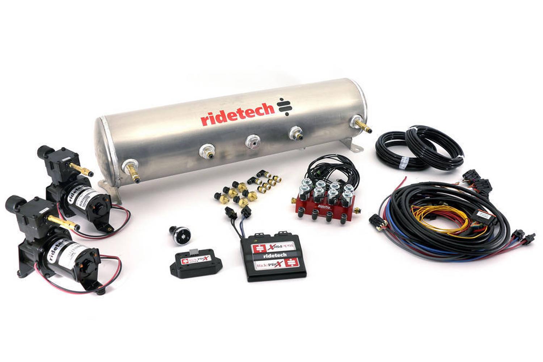 Ridetech RidePro E5 5 Gallon Dual Compressor 1/4in Valves