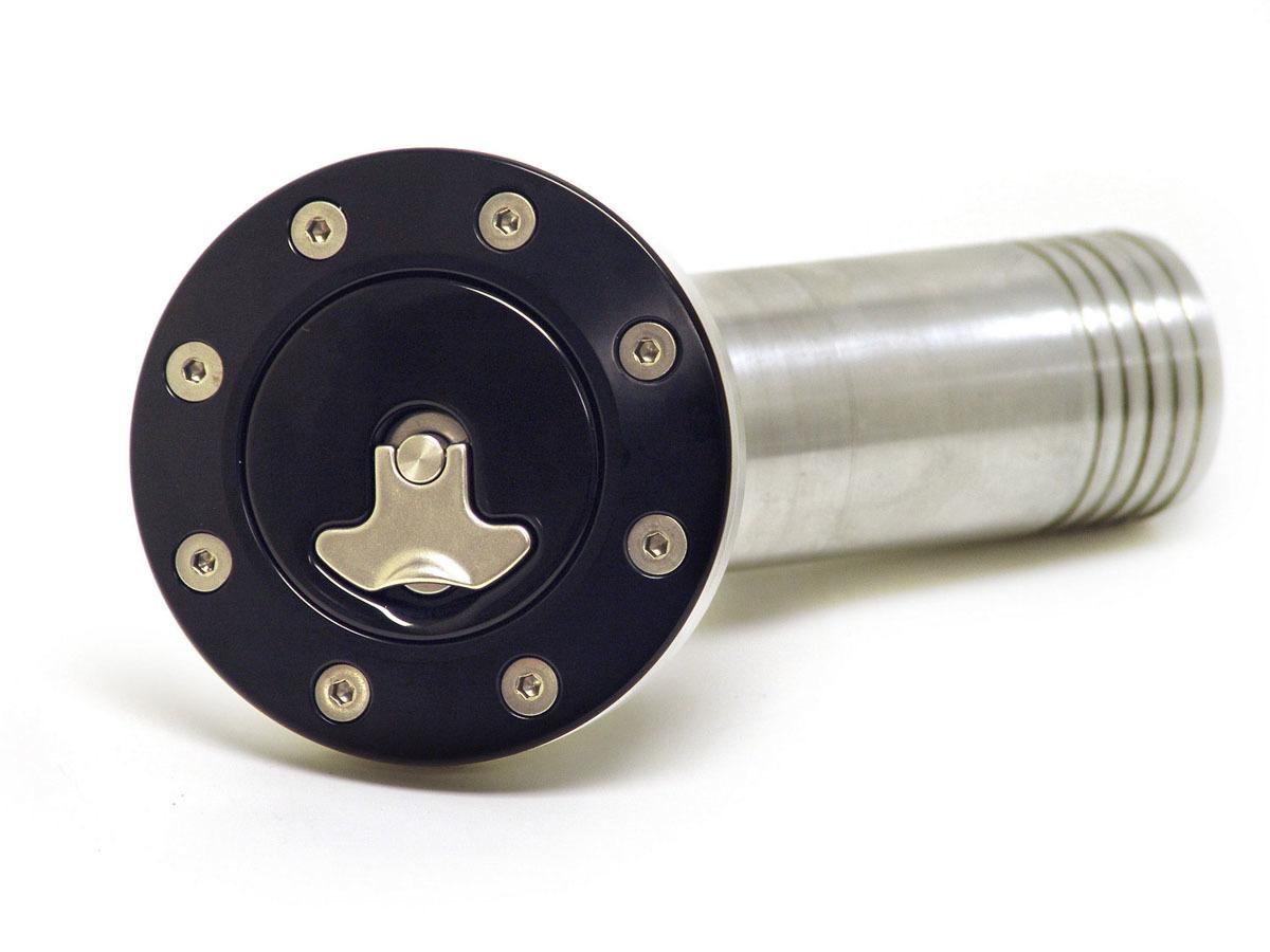 Ridetech Universal Billet Locking Gas Cap Black