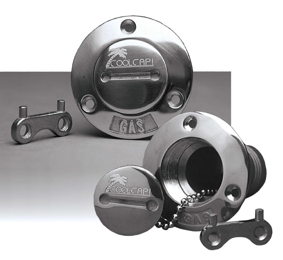 Ridetech Universal Gas Filler Coolcap