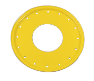 Aero Race Wheels Mud Buster 1pc Ring and Cover Yellow