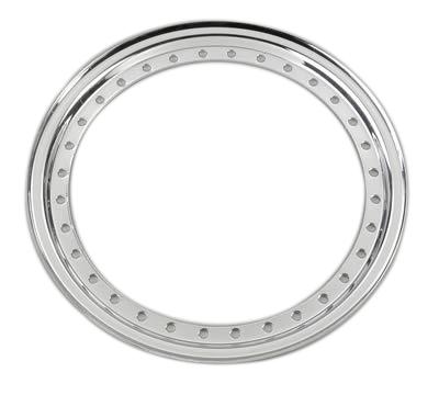 Aero Race Wheels Outer Beadlock Ring Chrome