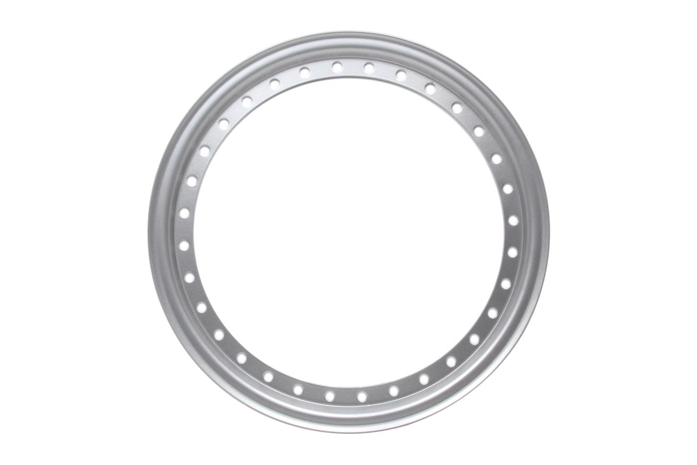 Aero Race Wheels Outer Beadlock Ring Silver