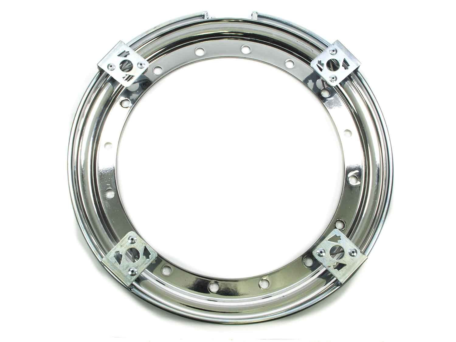 Aero Race Wheels 13in Outer Bead Lock Ring Chrome