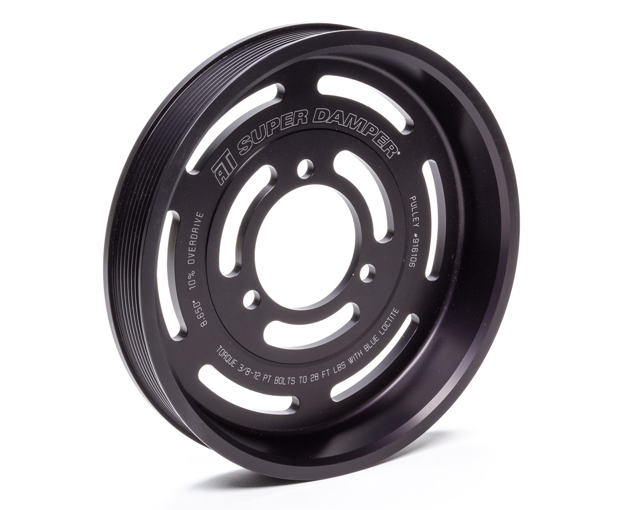 Ati Performance Supercharger Pulley 8.86 8-Groove Serpentine
