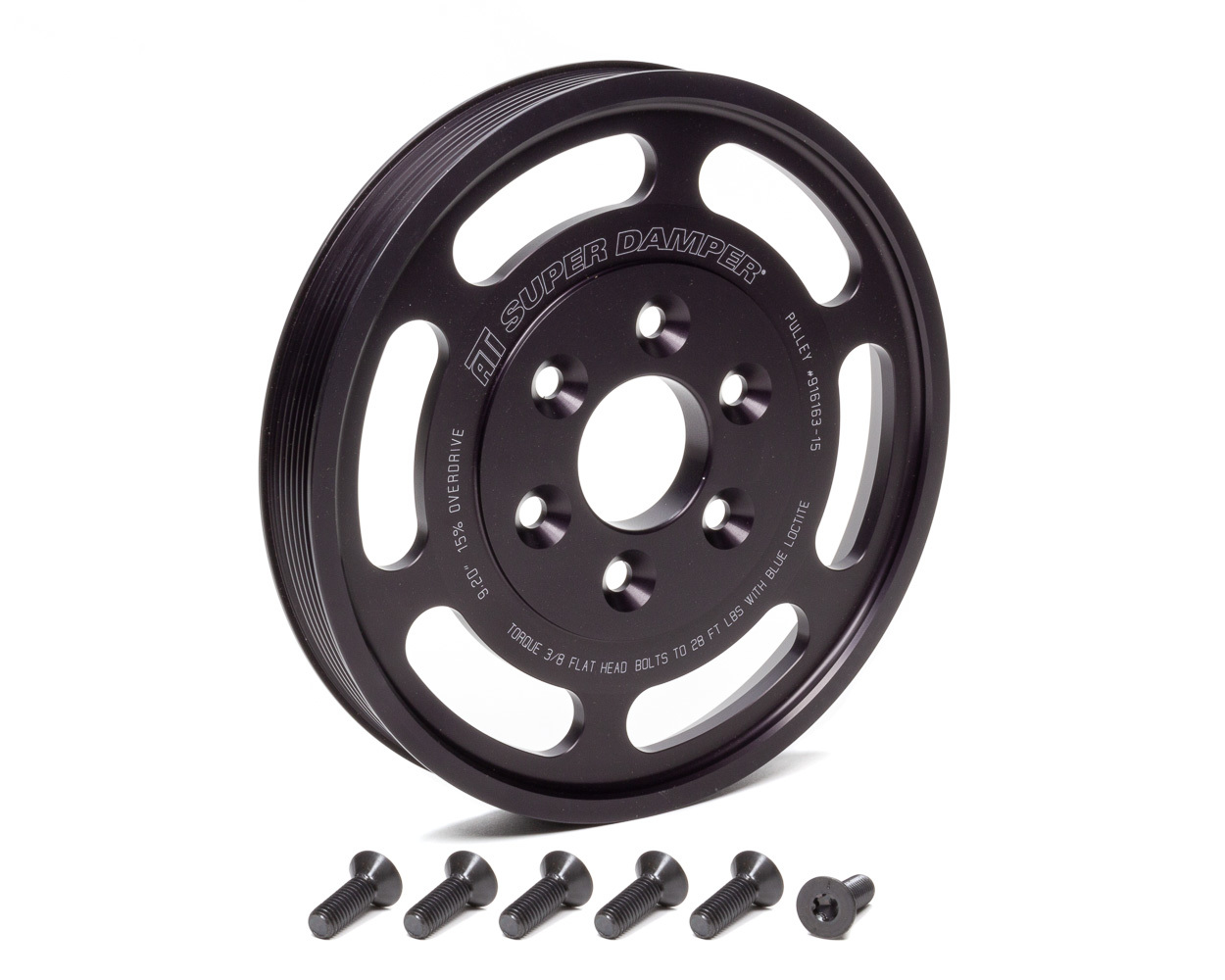 Ati Performance Supercharger Pulley 8.597 Dia. 8-Groove