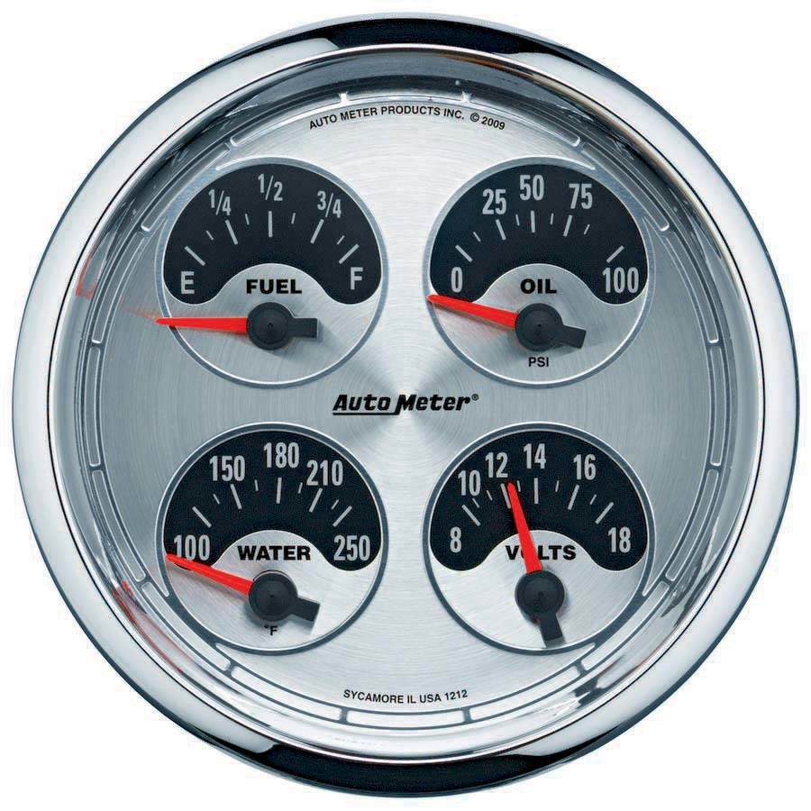 Autometer 5in A/M Quad Gauge