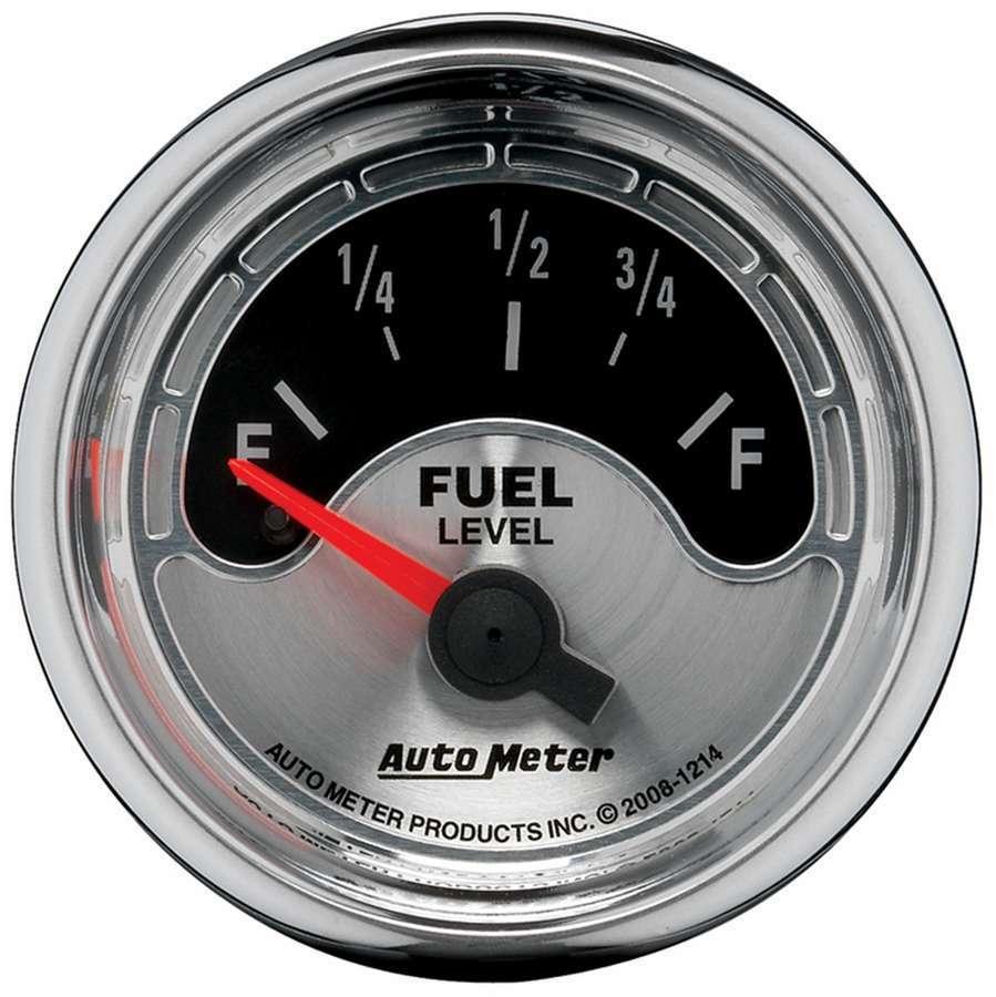 Autometer 2-1/16 A/M Fuel Gauge 0-90 Ohms