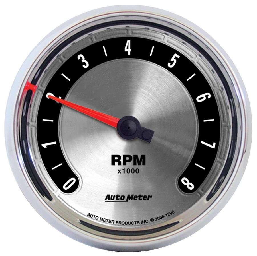 Autometer 3-3/8 A/M Tachometer 8000RPM