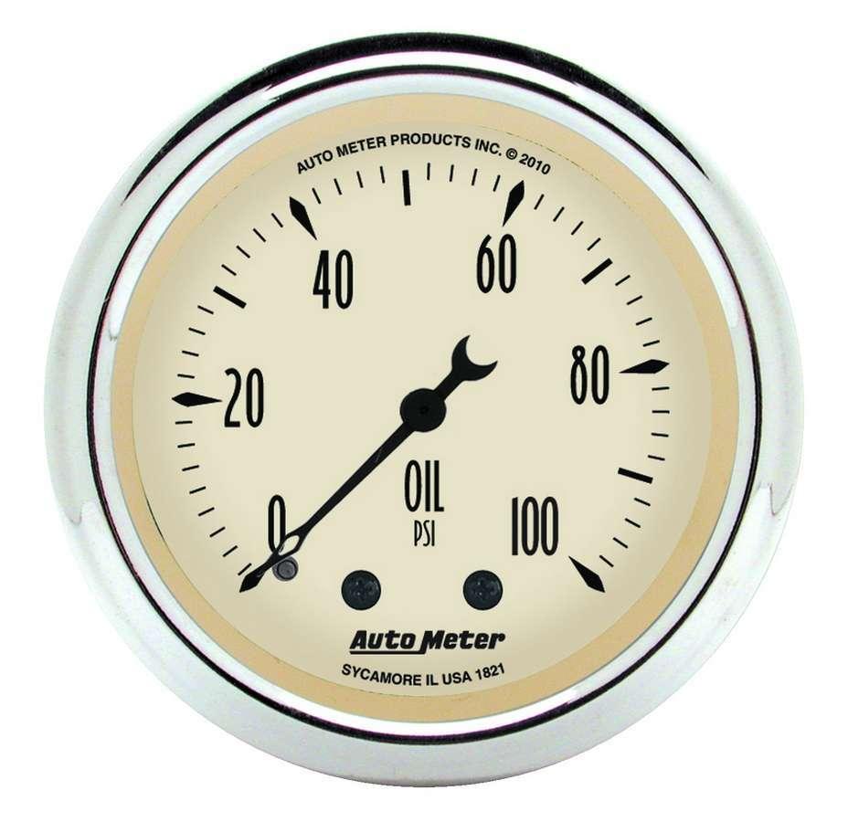 Autometer 2-1/16 A/B Oil Pressure Gauge 0-100 PSI