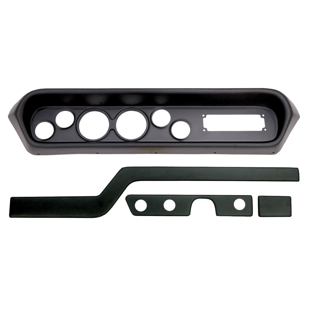 Autometer Direct Fit Gauge Panel GTO/Lemans 64-65 Black