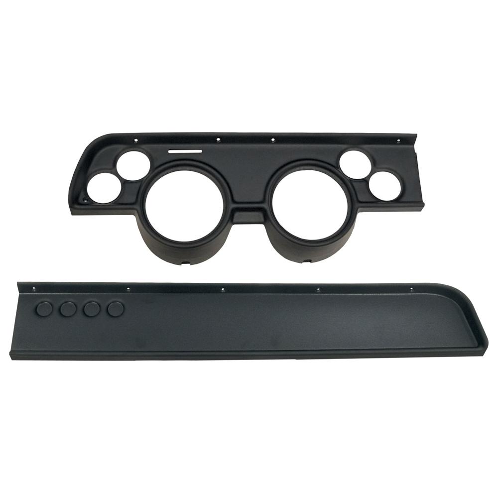 Autometer Direct Fit Gauge Panel Cougar 67-68 Black