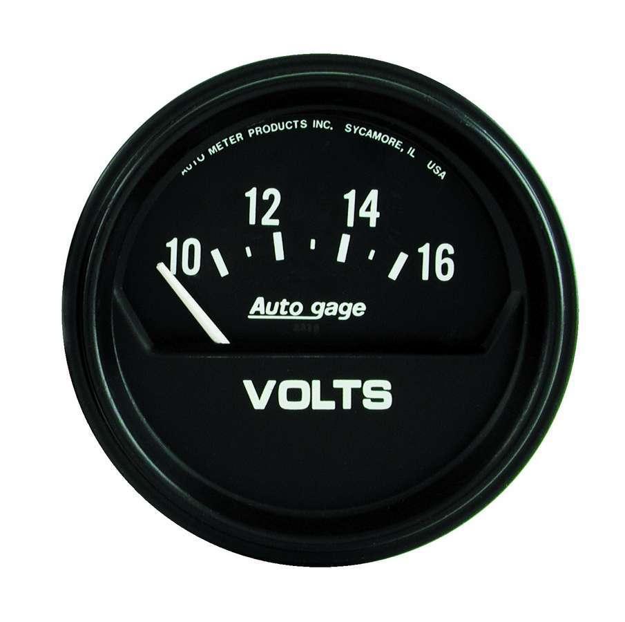 Autometer 10-16 Voltmeter Autogage