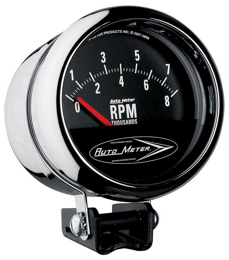 Autometer 3-3/4 Tach 8000RPM - Short Sweep