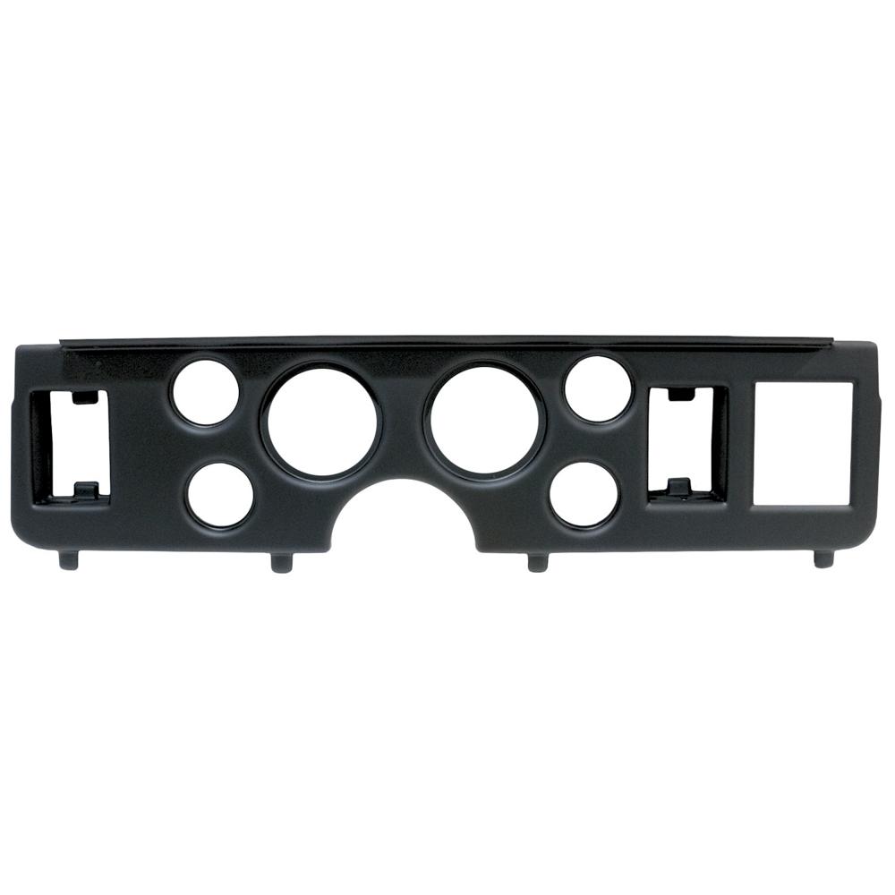 Autometer Direct Fit Gauge Panel Mustang 79-86 Black