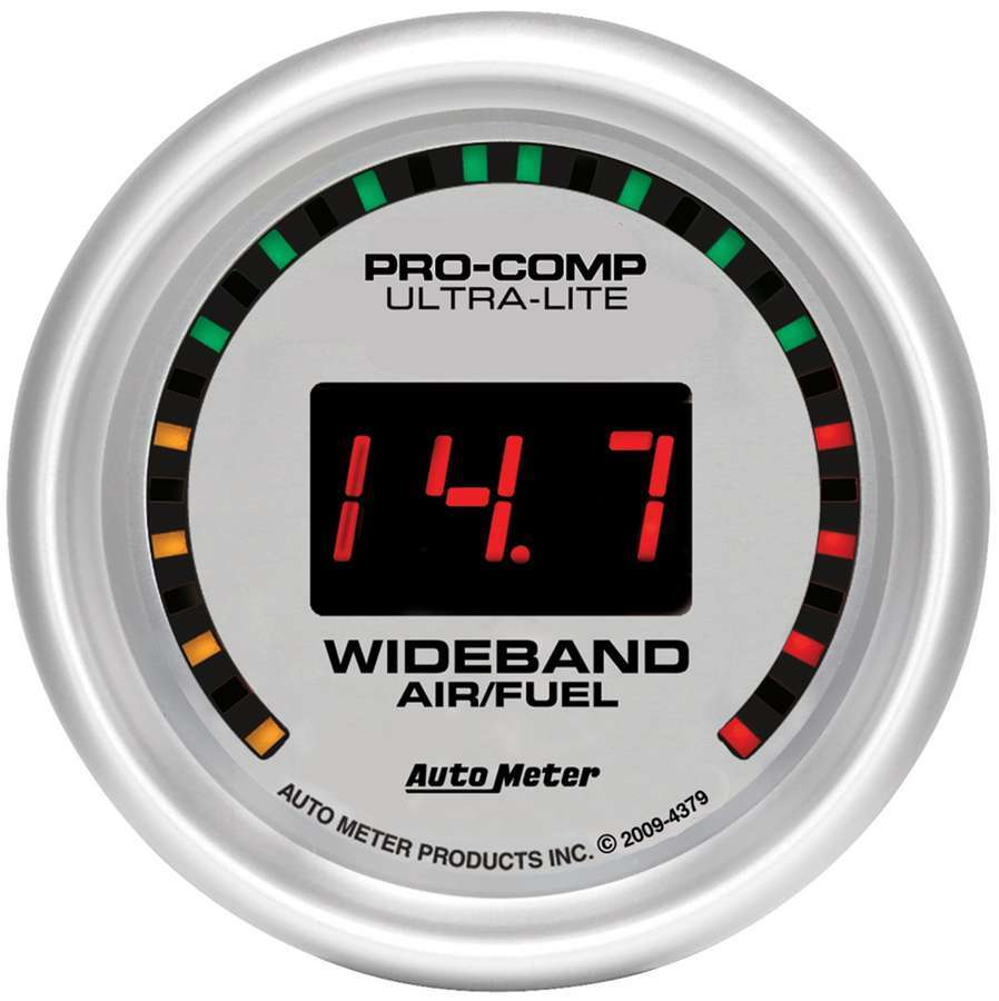 Autometer 2-1/16 U/L Wide Band Street Air/Fuel Gauge