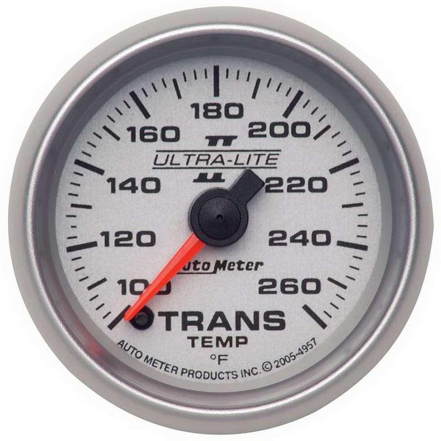 Autometer 2-1/16in U/L II Trans. Temp. Gauge 100-260