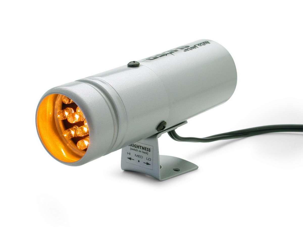 Autometer Super-Lite Shift Light Silver - 12 LED's