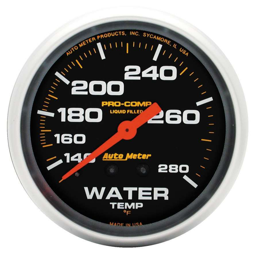 Autometer 140-280 Water Temp Gauge