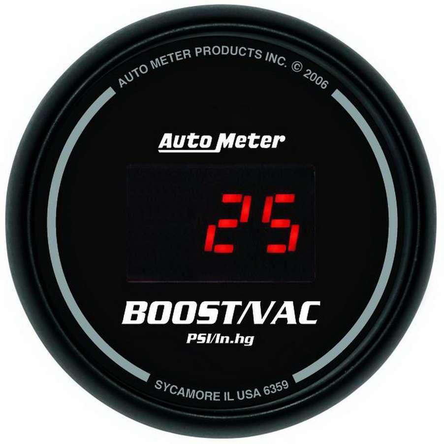 Autometer 2-1/16in DG/B Vacuum/ Boost Gauge