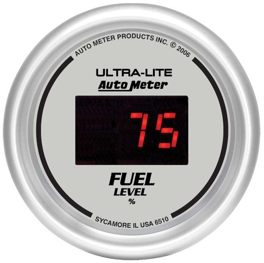 Autometer 2-1/16in DG/S Fuel Level Gauge