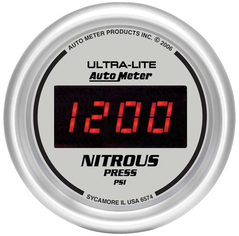 Autometer 2-1/16in DG/S Nitrous Pressure Gauge