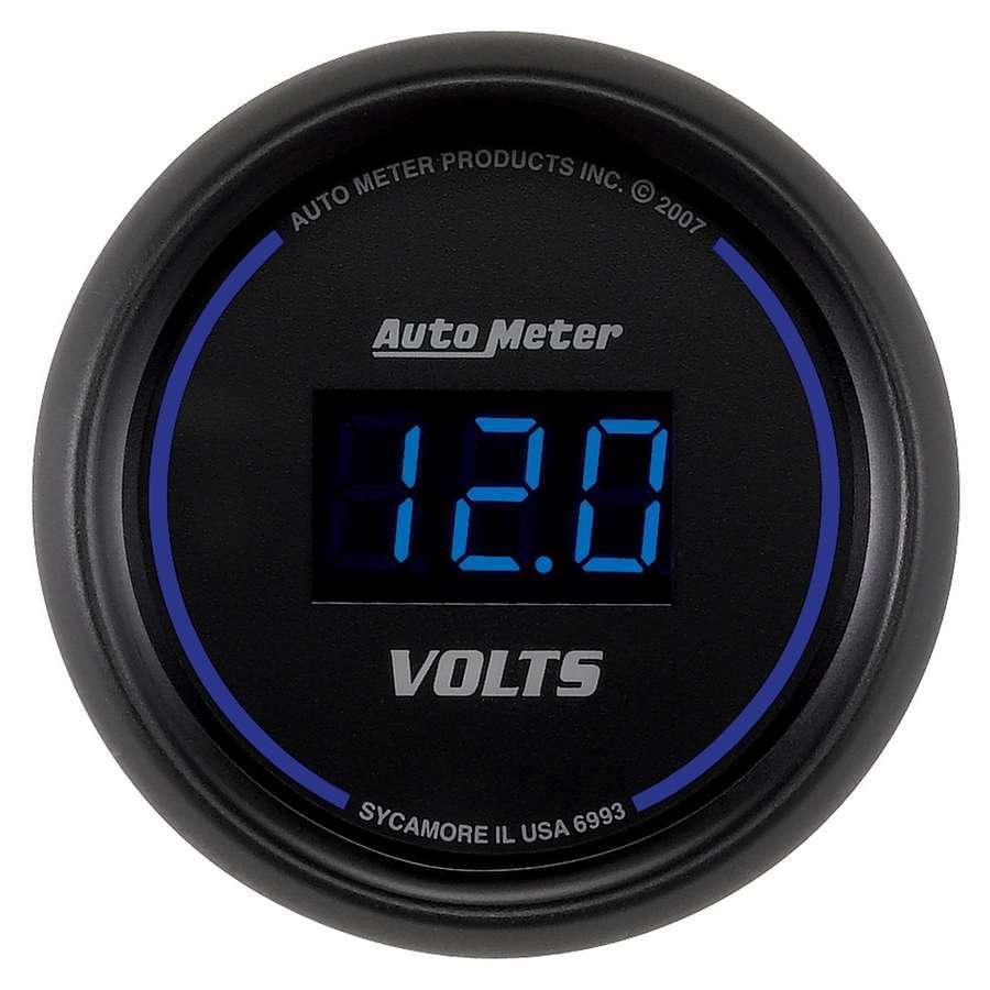 Autometer 2-1/16 Cobalt Voltmeter Gauge