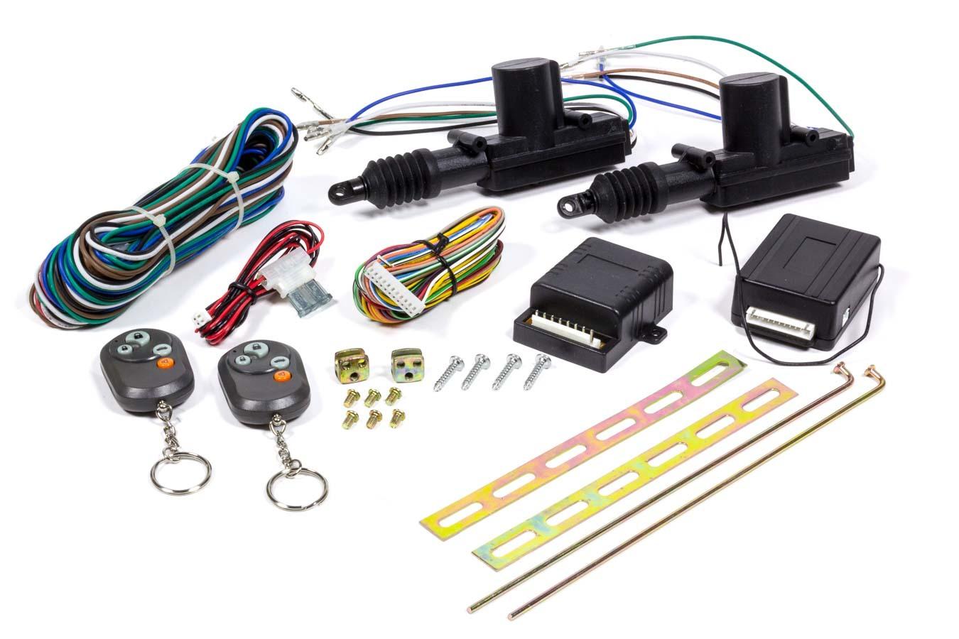 Auto-loc 2 Door Power Lock Kit w/Remote