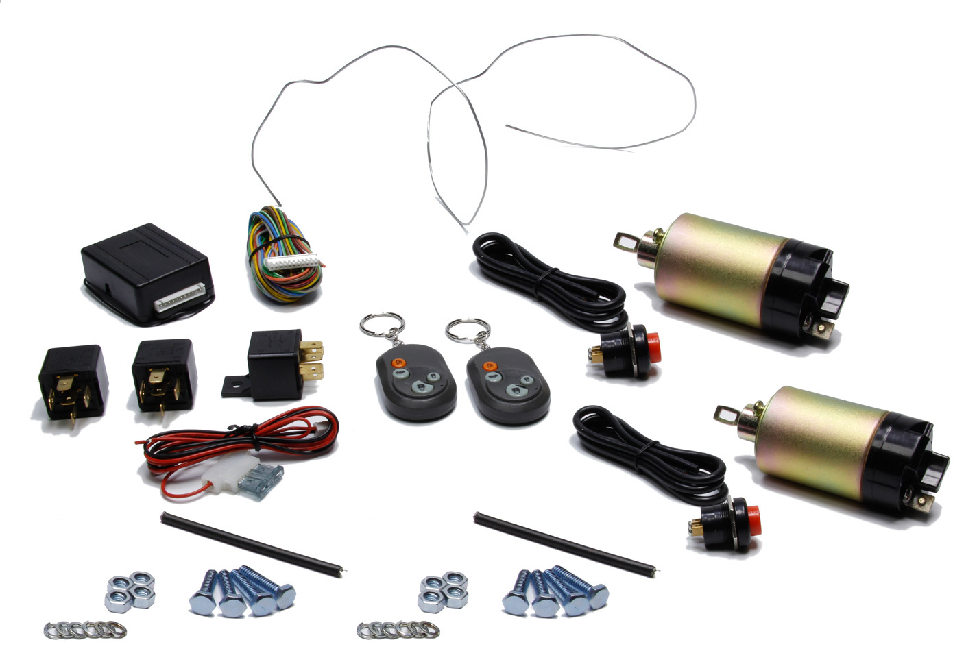 Auto-loc 2 Door Remote Shaved Handle Kit 15lb Solen.