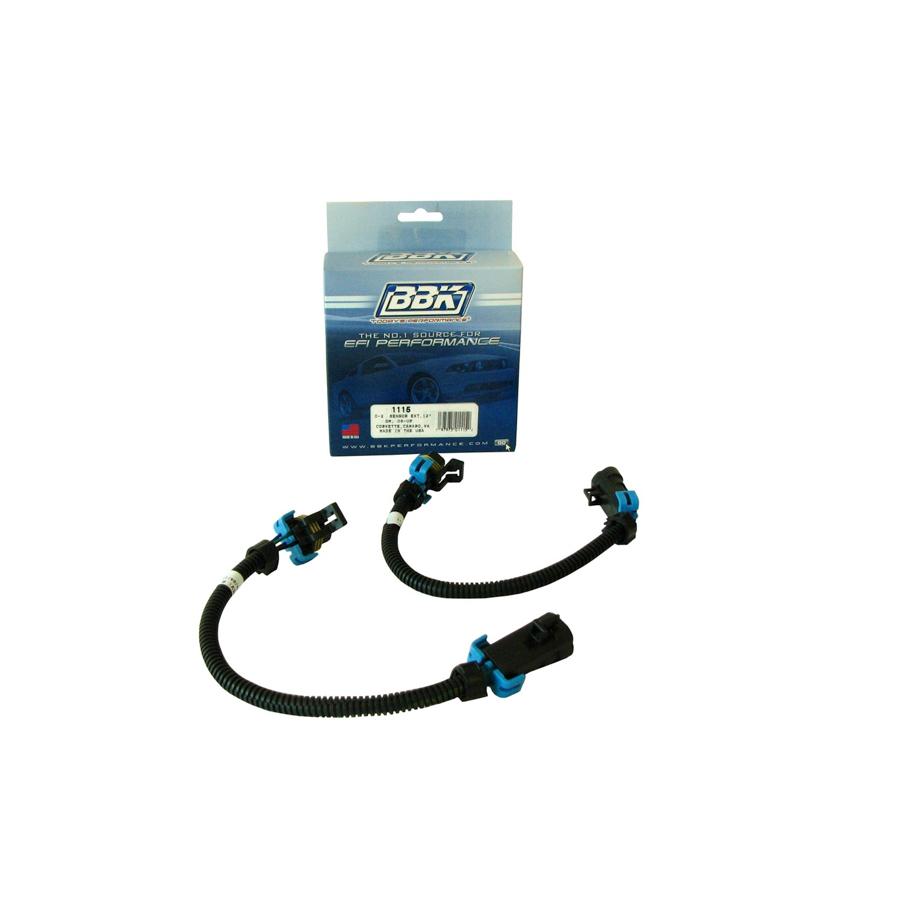 Bbk Performance O2 Sensor Wire Extension Kit Pr 12in GM Cam/Corv