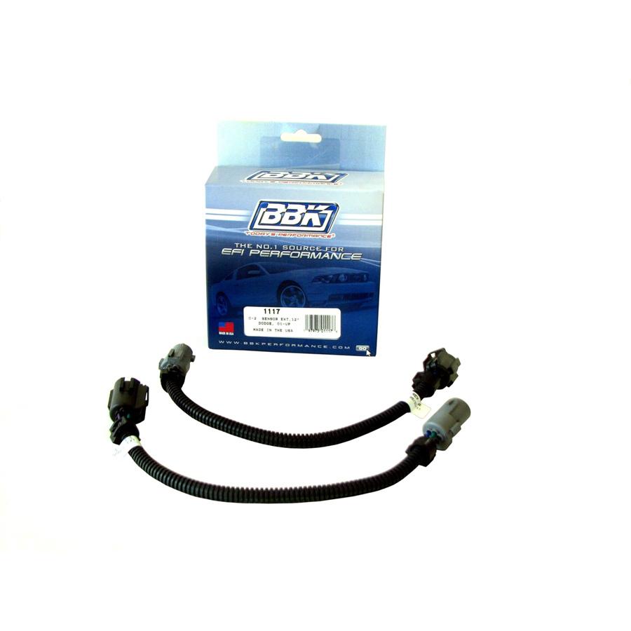 Bbk Performance O2 Sensor Wire Extension Kit Pr 12in Dodge