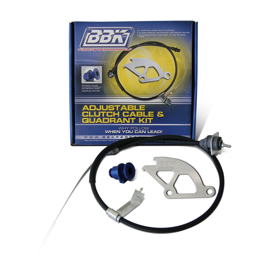 Bbk Performance Clutch Quadrant & Cable Kit - 79-95 Mustang