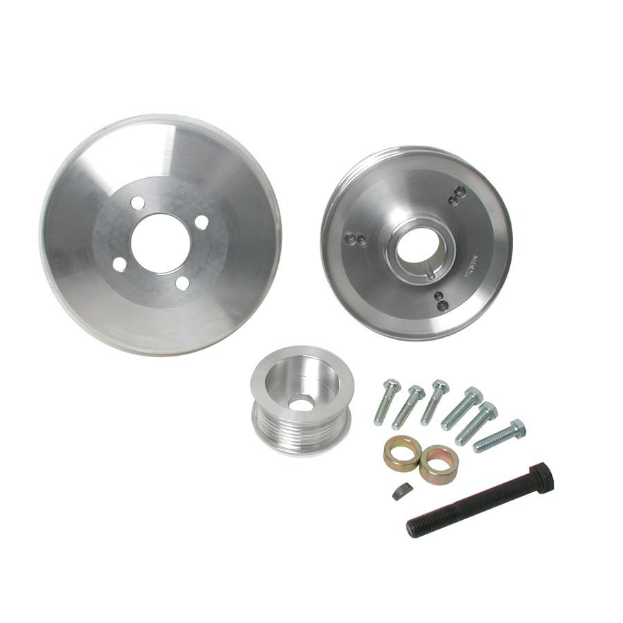 Bbk Performance 3pc. Aluminum Pulley Kit - 97-03 Ford 4.6/5.4L