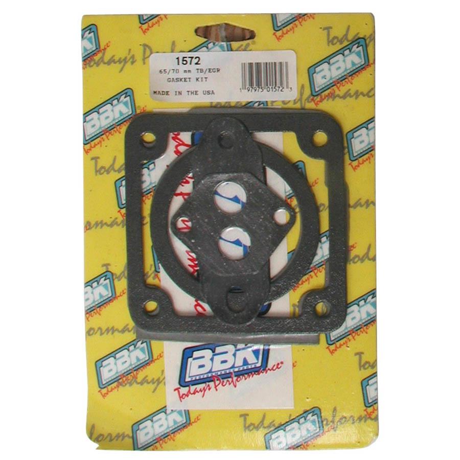 Bbk Performance Throttle Body Gasket Kit - 65/70mm 86-93 Mustang