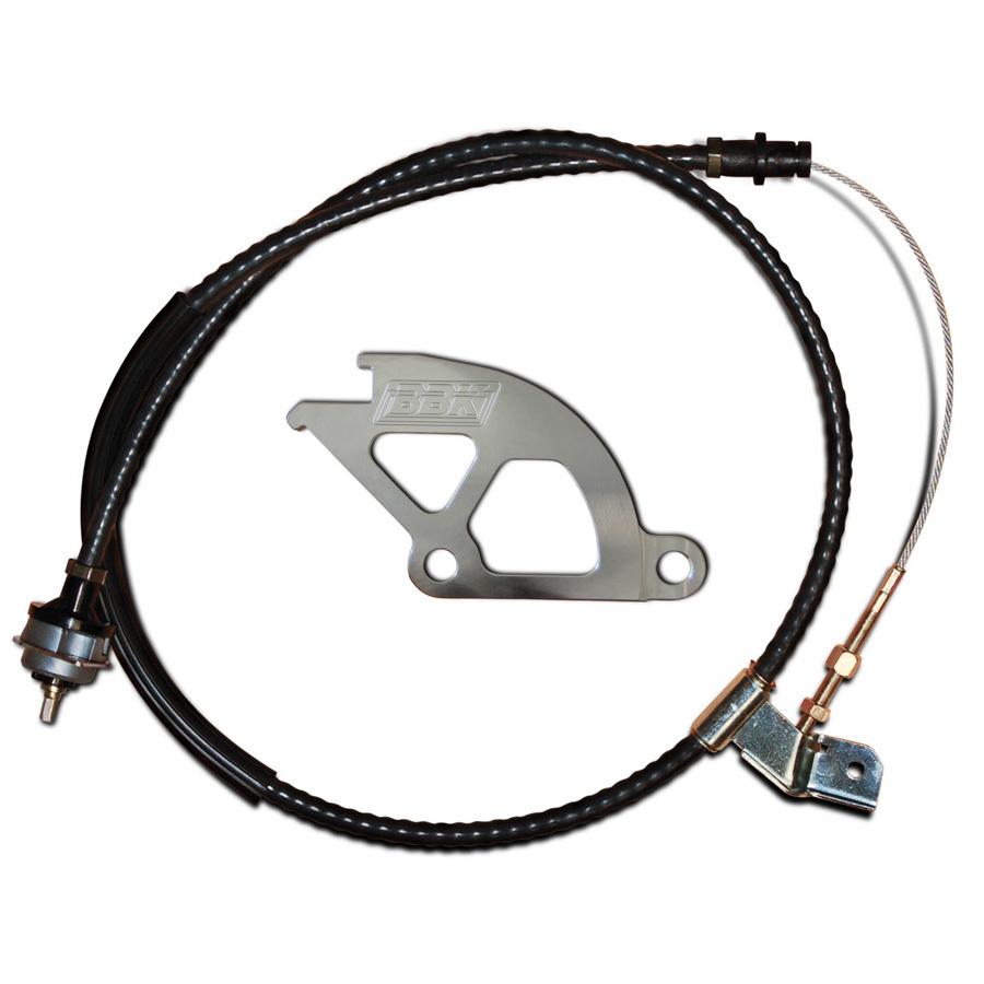 Bbk Performance HD Adj Clutch Cable & Quadrant 96-04 Mustang