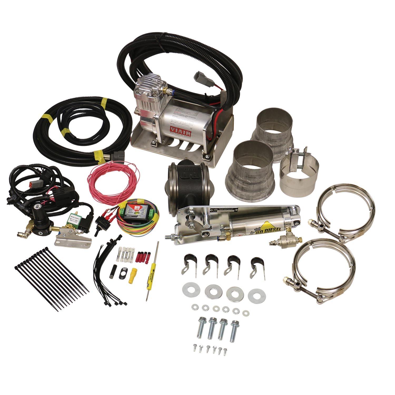 Bd Diesel Exhaust Brake Universal 3.5in w/ Air Compressor