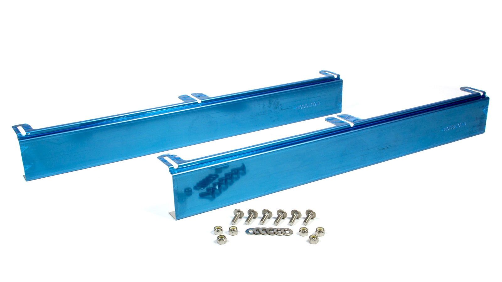 Be-cool Radiators Stainless Steel Upper - Lower Mounting Brackets