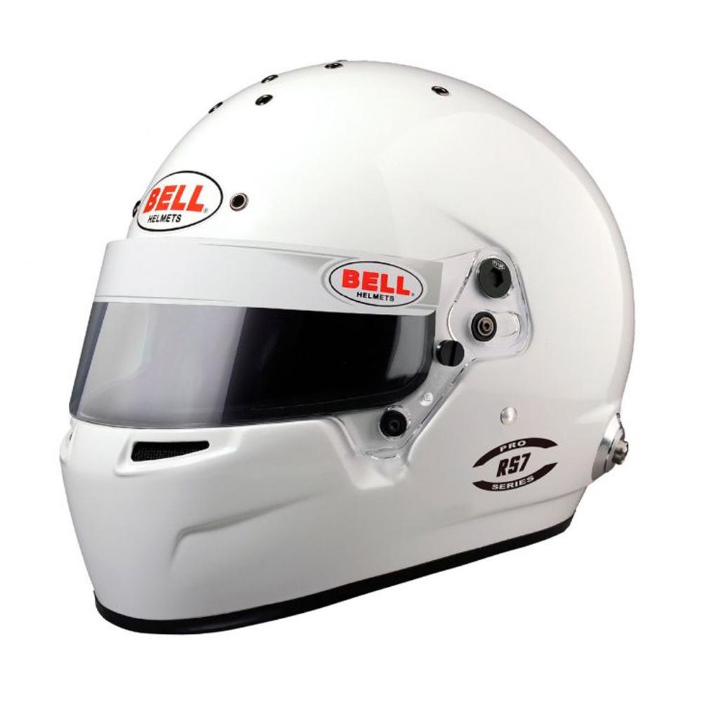 Bell Helmets Helmet RS7 7-3/8+ White SA2020 FIA8859