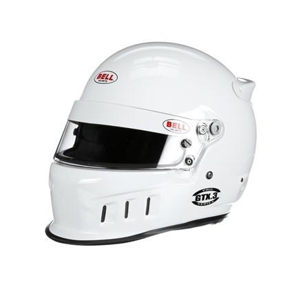 Bell Helmets Helmet GTX3 7-1/4 White SA2020 FIA8859