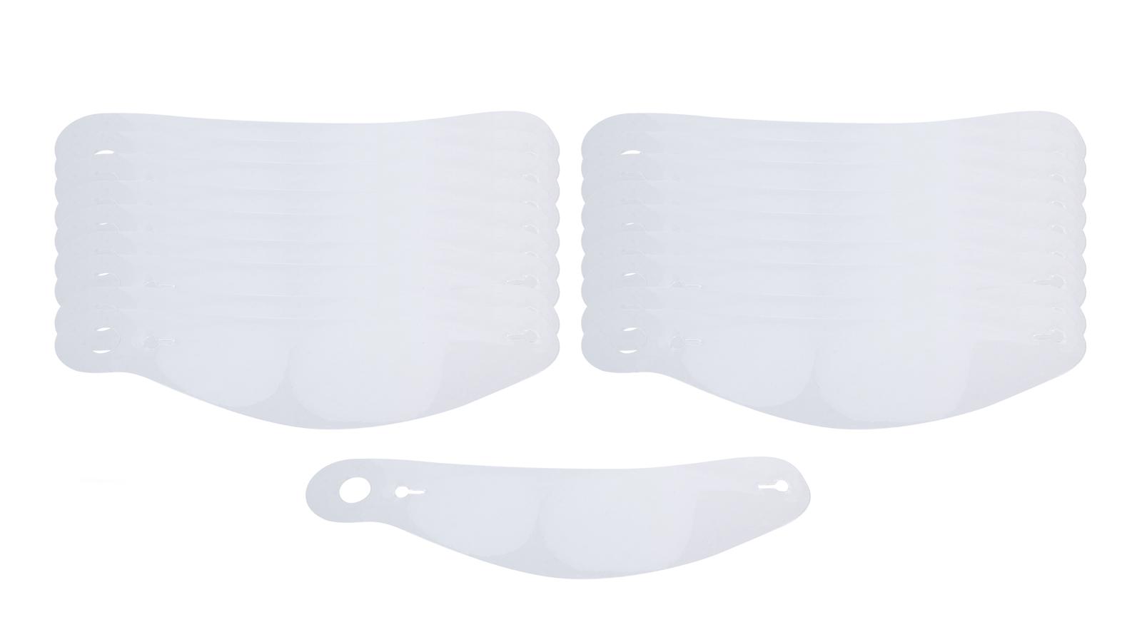 Bell Helmets Thin Tear Offs 2mil 20pk 281/288 Shield