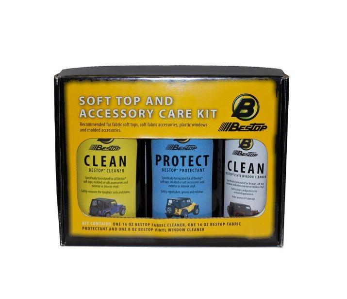 Bestop Cleaner & Protectant Pack